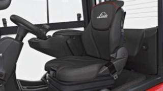 neue Sitzvarianten der Linde Dieselstapler für mehr Komfort