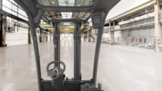 Optimale Durchsicht mit den neuen Linde Dieselstapler