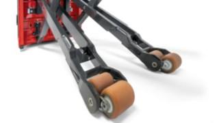 Tasten an der Seite des Kommissionierers N 20 C zur Bedienung des Fahrzeugs von außen