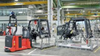Der L-MATIC in der Produktion bei Linde