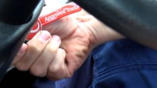 Schlüsselanhänger mit approved truck Logo