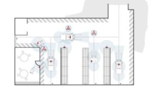 Eine Grafik zeigt die Anwendung des Linde Safety Guards