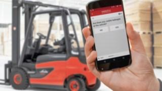 Check app der Flottenmanement Software von Linde