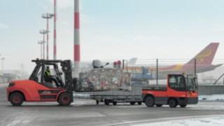 Linde präsentiert umfangreiches Equipment für Flughäfen