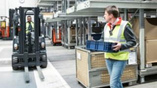 Assistenzsystem Linde Safety Guard verhindert Unfälle