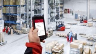 geöffnete Truck Call-App auf einem Handy