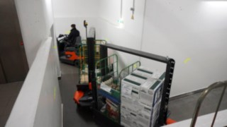 Linde Factory Train versorgt Bergrestaurant in 2.283 Metern Höhe
