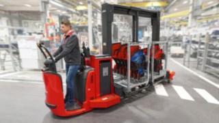 Neues Fahrzeugkonzept Trolley Supply Truck