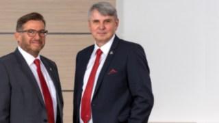 Vorstände Ulrich Kurz und Hand Eisenhauer