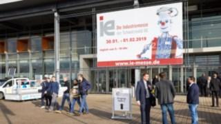 Eingang der Industriemesse ie Freiburg