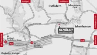 Wegbeschreibung Schöler Niederlassung Ostfildern