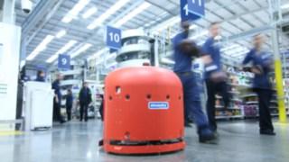 der Bodenreinigungs-Roboter Cleanfix RA660 Navi