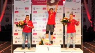 Gewinnerin der Deutschen Meisterschaften Melanie Holl